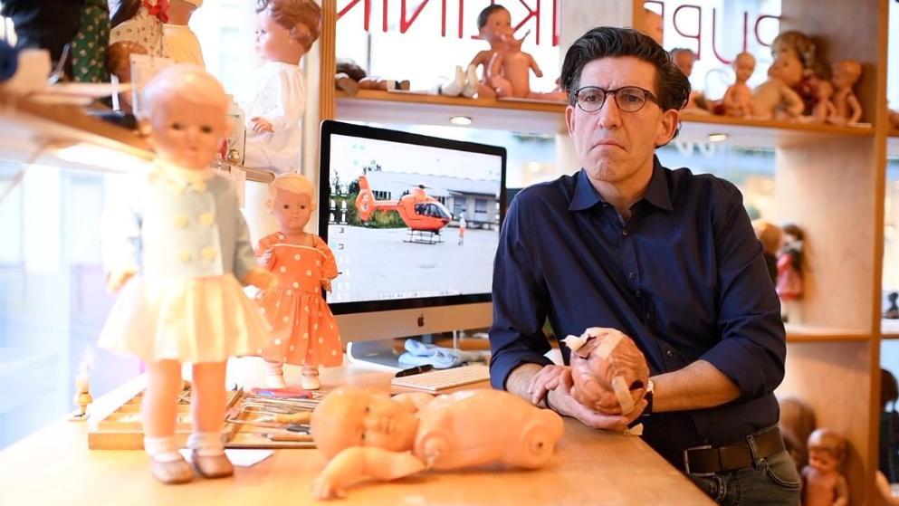 Der Puppendoktor rettet auch Menschenleben
